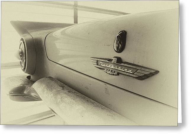 Greeting Card featuring the photograph Antique Classic Car Vintage Effect by Rick Veldman