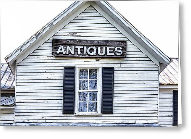 Greeting Card featuring the photograph Antiques by Randy Bayne