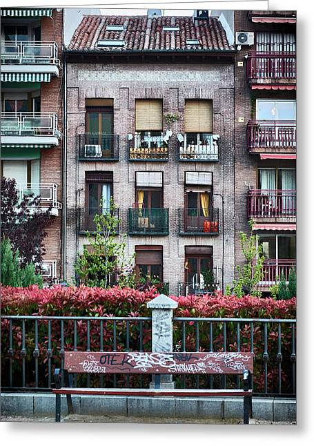 Apartments In Madrid Greeting Card