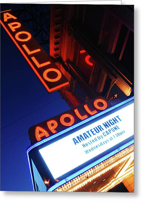 Apollo Theater Amateur Night Greeting Card