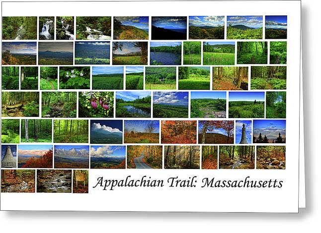 Greeting Card featuring the photograph Appalachian Trail Massachusetts by Raymond Salani III