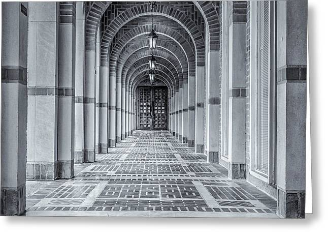 Arched Walkway Greeting Card