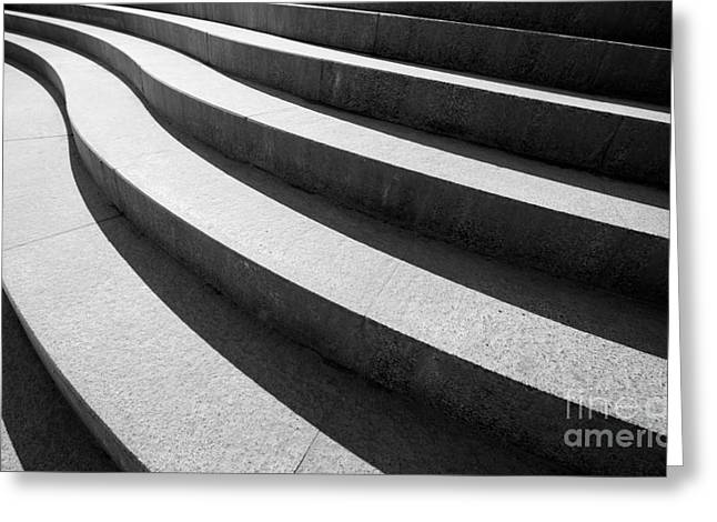 Architectural Design Of Stairs Greeting Card
