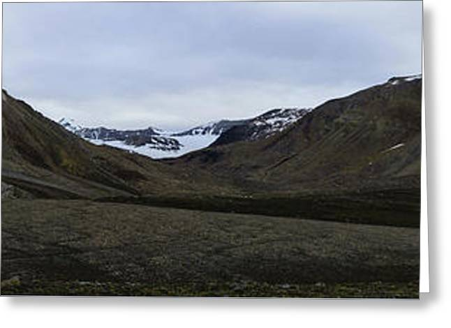 Arctic Mountain Landscape Greeting Card