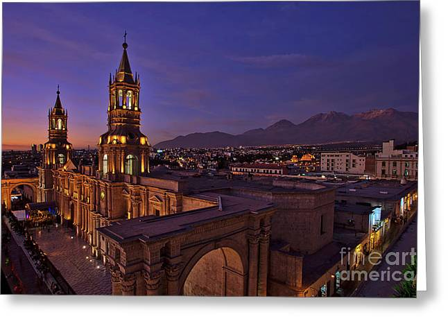 Arequipa Is Peru Best Kept Travel Secret Greeting Card