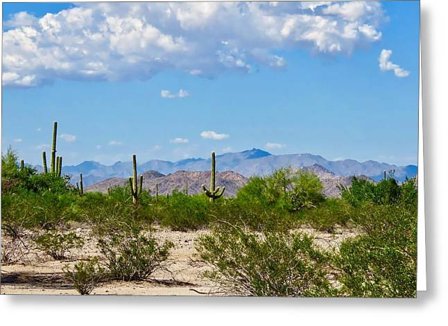 Arizona Desert Hidden Valley Greeting Card