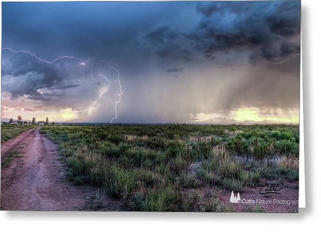 Arizona Storm Greeting Card