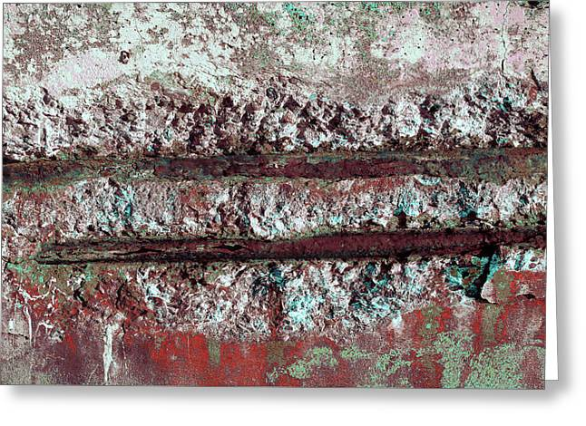Greeting Card featuring the photograph Art Print Abstract 14 by Harry Gruenert