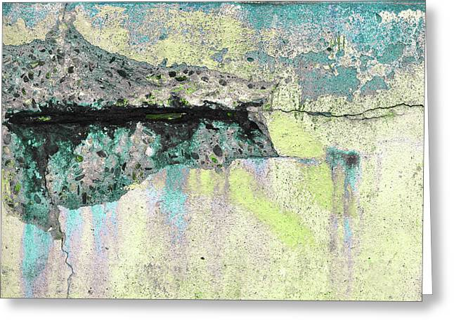 Greeting Card featuring the photograph Art Print Abstract 24 by Harry Gruenert