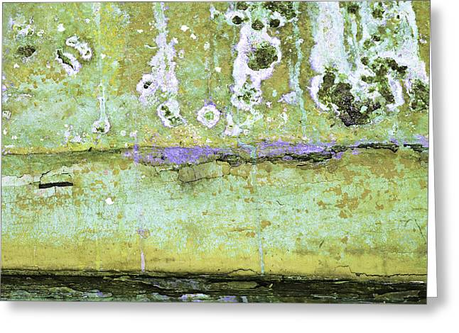 Greeting Card featuring the photograph Art Print Patina 50 by Harry Gruenert