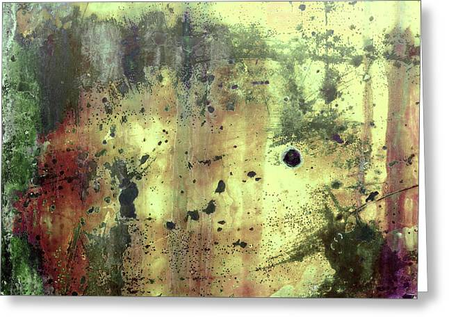 Greeting Card featuring the photograph Art Print Patina 54 by Harry Gruenert