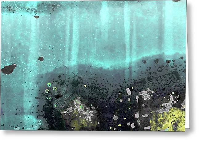Greeting Card featuring the photograph Art Print Patina 55 by Harry Gruenert