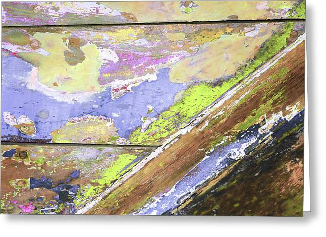 Greeting Card featuring the photograph Art Print Patina 56 by Harry Gruenert