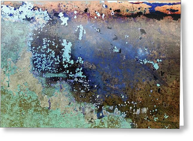 Greeting Card featuring the photograph Art Print Patina 57 by Harry Gruenert