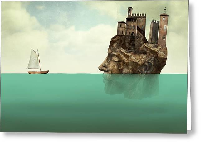 Artistic Surreal Illustration Greeting Card