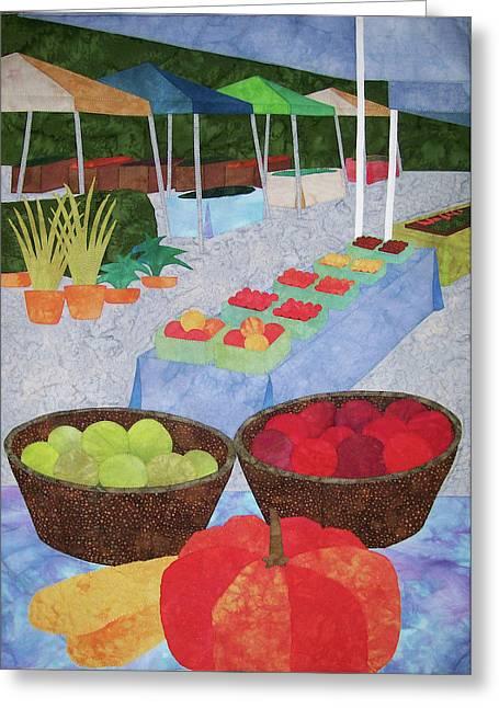 Kings Yard Farmers Market Greeting Card