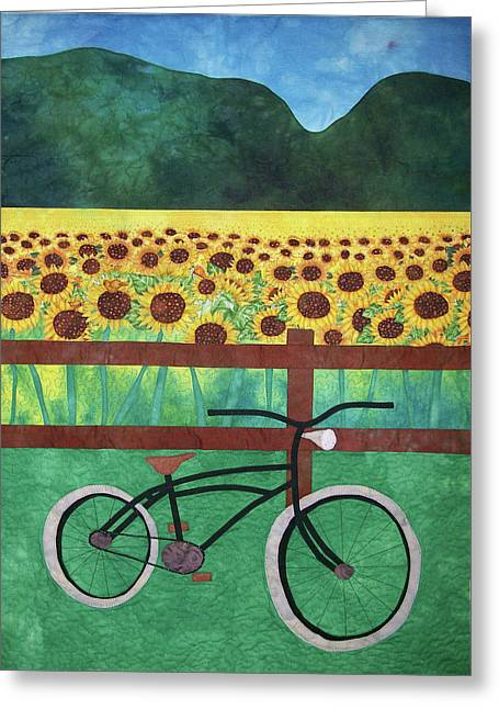 Sunflowers At Whitehall Farm Greeting Card