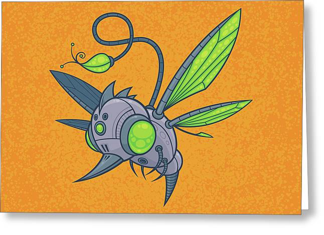 Humm-buzz Greeting Card