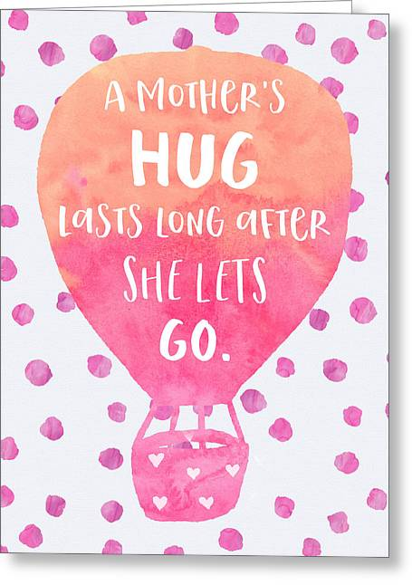 A Mother's Hug Greeting Card
