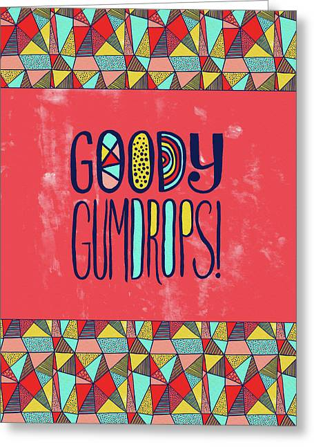 Goody Gumdrops Greeting Card