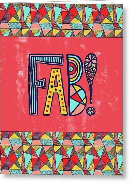 Fab Greeting Card