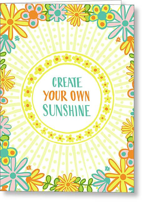 Create Your Own Sunshine Greeting Card
