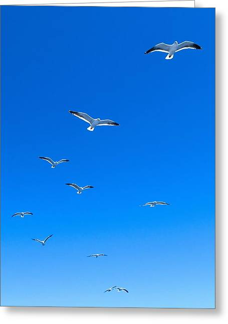 Ascending To Heaven Greeting Card
