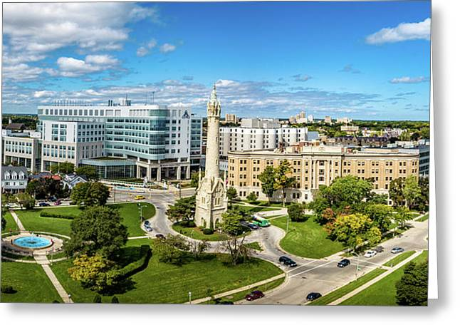 Greeting Card featuring the photograph Ascension Columbia St. Mary's Hospital by Randy Scherkenbach