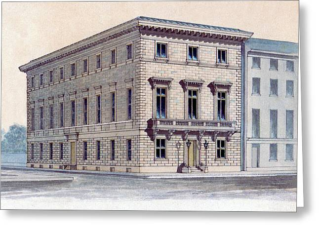Athenaeum Perspective Greeting Card