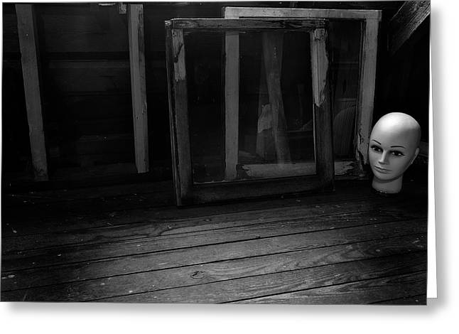 Greeting Card featuring the photograph Attic #2 by Mark Jordan