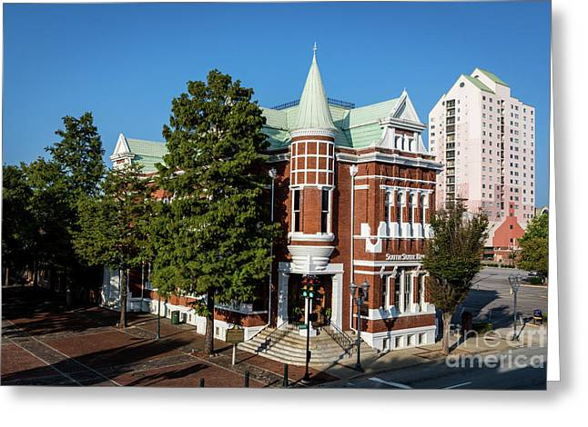Augusta Cotton Exchange - Augusta Ga Greeting Card