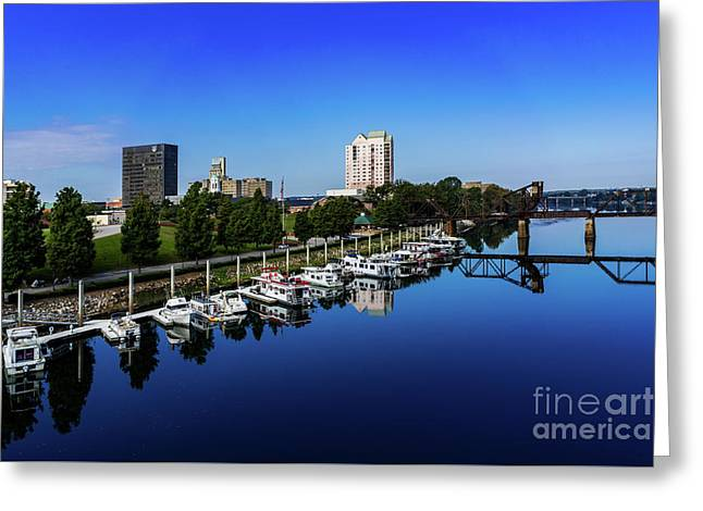 Augusta Ga Savannah River 2 Greeting Card
