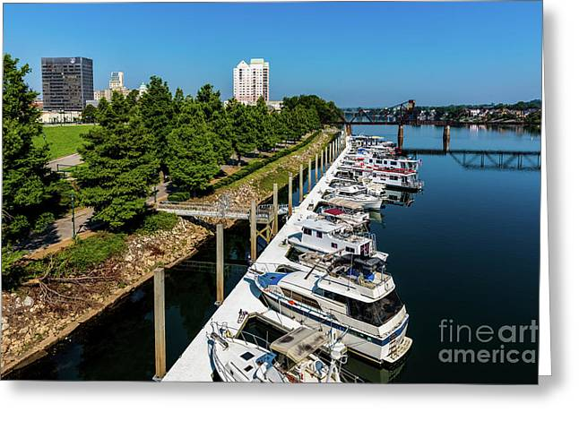 Augusta Ga - Savannah River Greeting Card