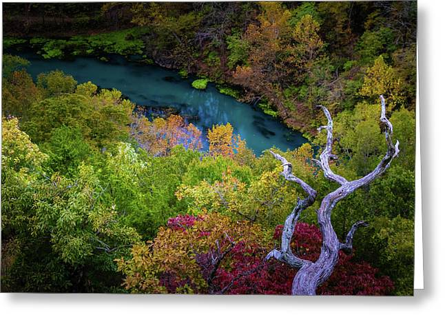 Autumn At Ha Ha Tonka State Park Greeting Card