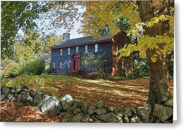 Autumn At Short House Greeting Card