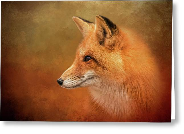 Autumn Fox Greeting Card