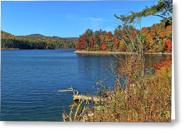 Autumn In North Carolina Greeting Card