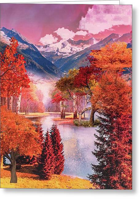 Autumn Landscape 1 Greeting Card