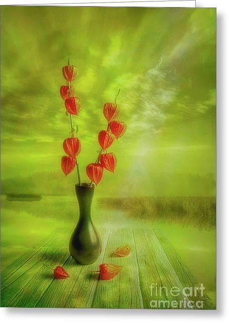 Autumn Still Life 2 Greeting Card