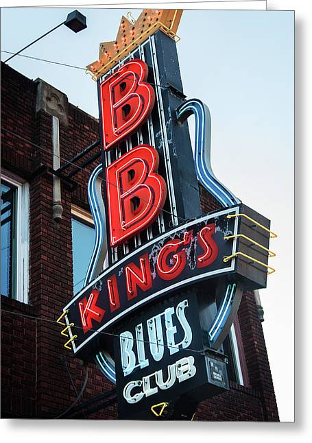 B. B. King's Greeting Card