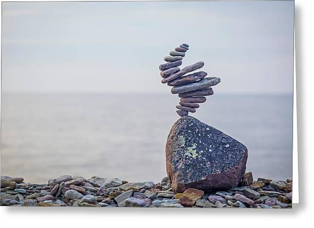 Balancing Art #11 Greeting Card