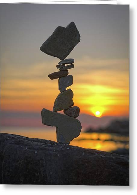 Balancing Art #12 Greeting Card