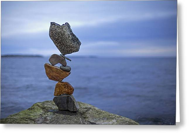 Balancing Art #13 Greeting Card
