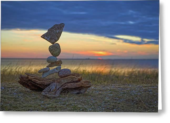 Balancing Art #17 Greeting Card