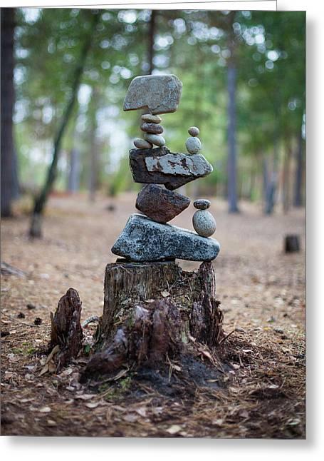 Balancing Art #19 Greeting Card