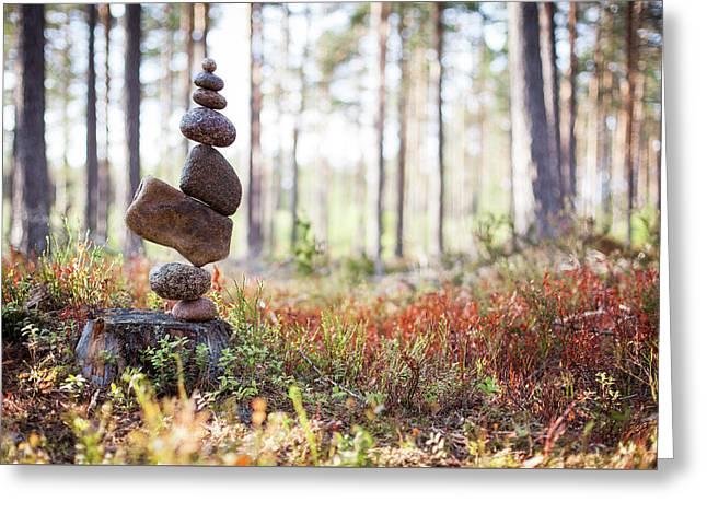 Balancing Art #20 Greeting Card