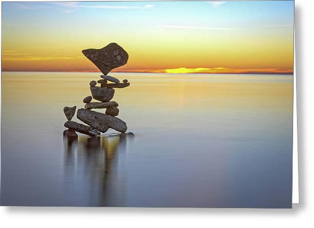 Balancing Art #22 Greeting Card