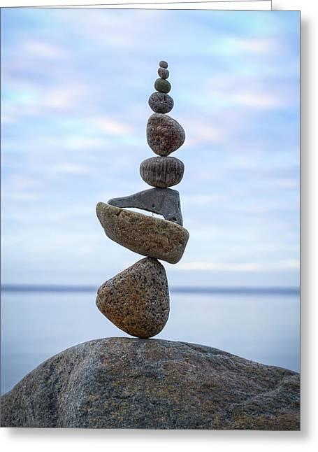 Balancing Art #24 Greeting Card