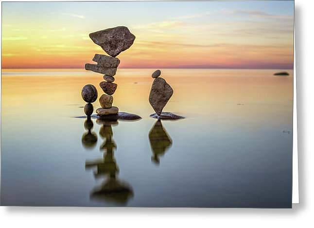 Balancing Art #26 Greeting Card