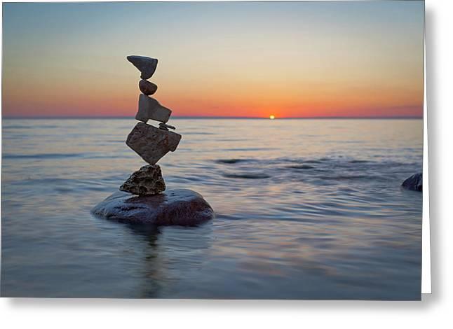Balancing Art #27 Greeting Card
